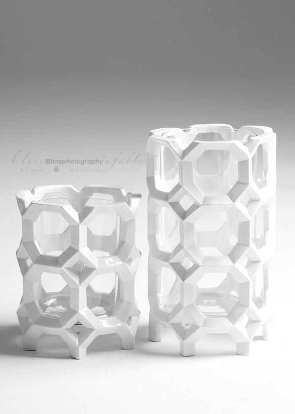 glass & white
