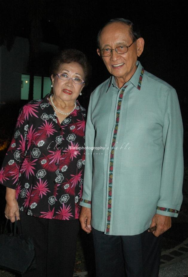 Fidel V. Ramos & Wife