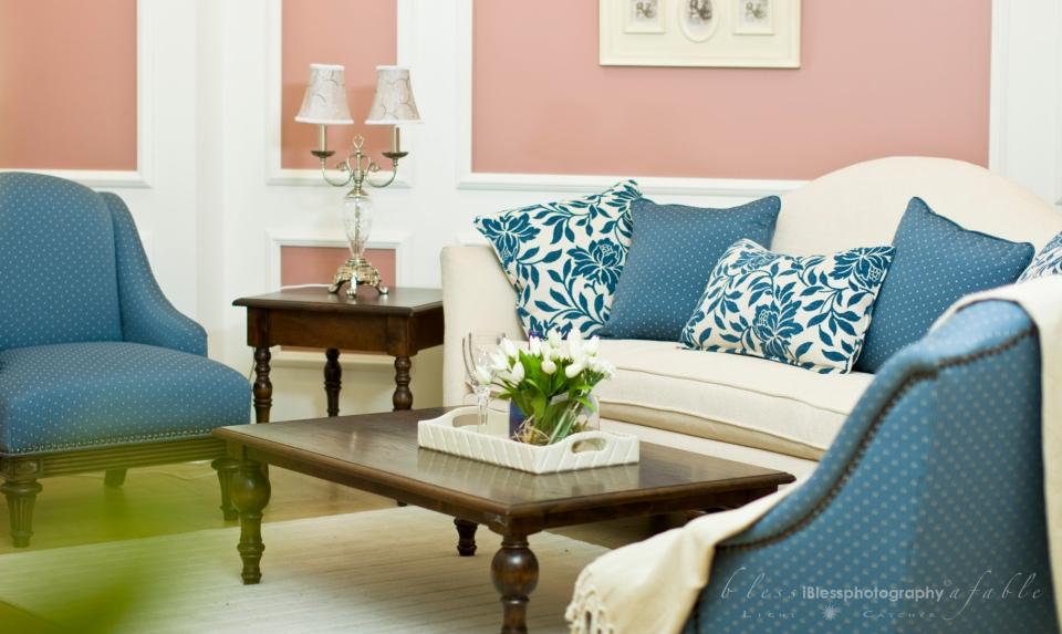 Living room Set up