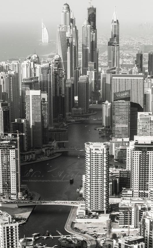 Dubai Marina Skyscrapers copy