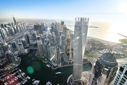 Twisting Cayan Tower Dubai