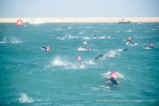 Jumeirah Beach triathlon