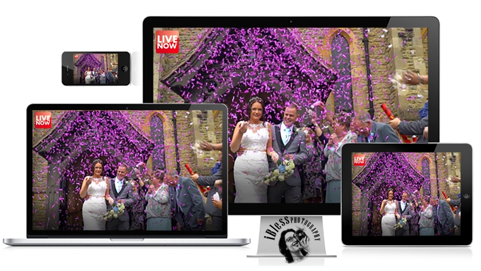 UK Live Broadcasting wedding iBlessphotography